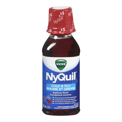 Picture of VICKS NYQUIL COLD LIQUID CHERRY 236ML