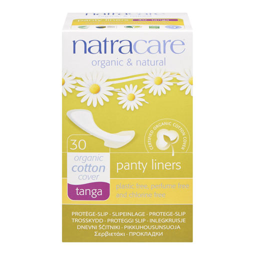Picture of NATRACARE PANTY LINER - TANGA 30S