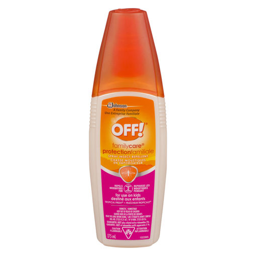 Picture of OFF FAMILY CARE SPRAY - KIDS - TROPICAL FRESH 175ML