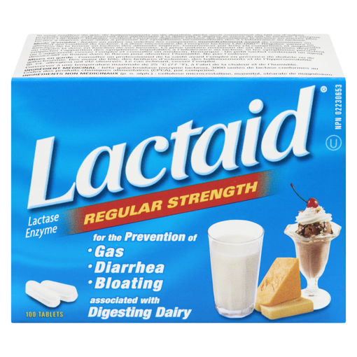 Picture of LACTAID CHEWABLE TABLET 100S