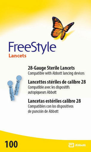 Picture of FREESTYLE LANCETS 100S