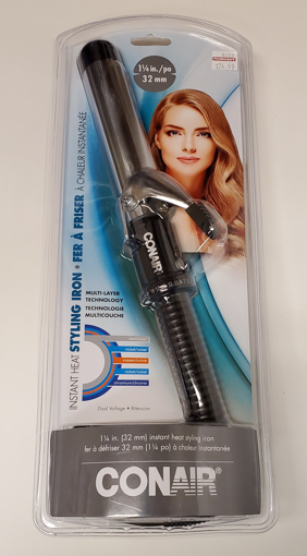 Picture of CONAIR SUPREME CURLING IRON - W/10 HEAT SETTINGS 3/4IN - CD36RHCBC