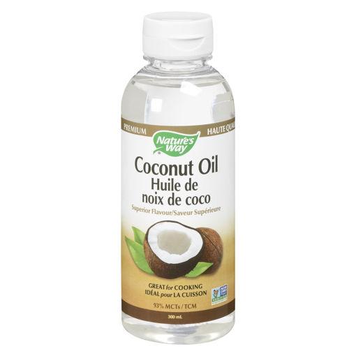 Picture of NATURE'S WAY COCONUT OIL - LIQUID 300ML