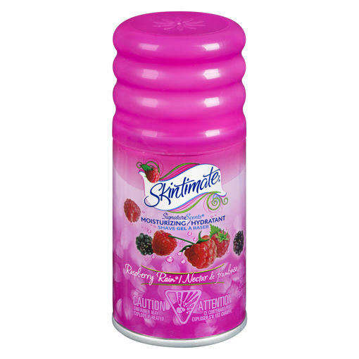 Picture of SKINTIMATE SIGNATURE SCENTS RASPBERRY RAIN TRIAL SIZE 78GR