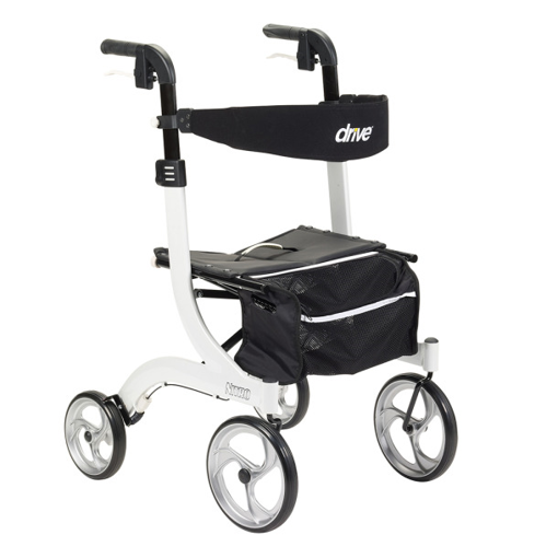 Picture of DRIVE MEDICAL NITRO ROLLATOR - WHITE FRAME