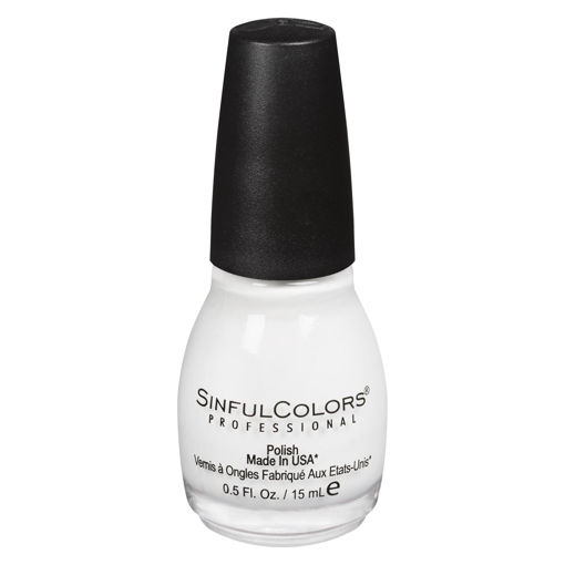 Picture of SINFULCOLORS NAIL COLOUR - SNOW ME WHITE