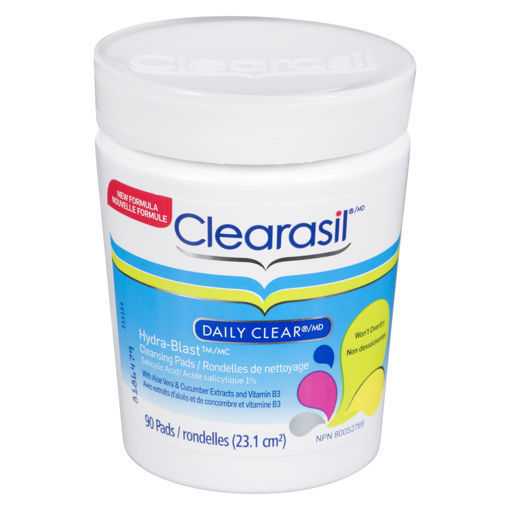 Picture of CLEARASIL HYDRABLAST CLEANSING PAD 90S