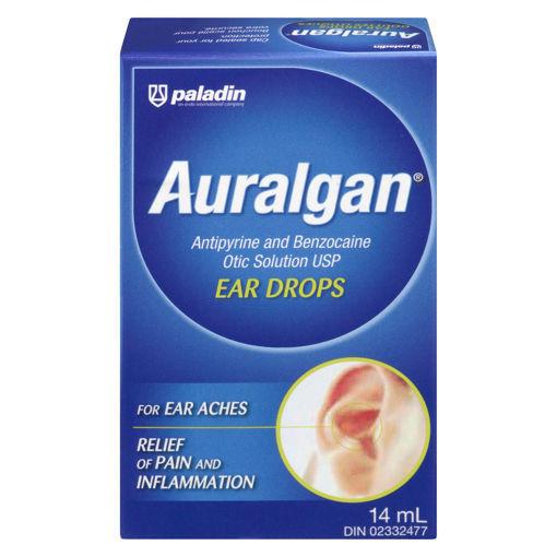 Picture of AURALGAN EAR DROPS 14ML